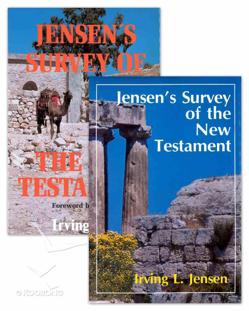 Jensen's Survey of Old Testament & New Testament (2 Volume Set) eBook