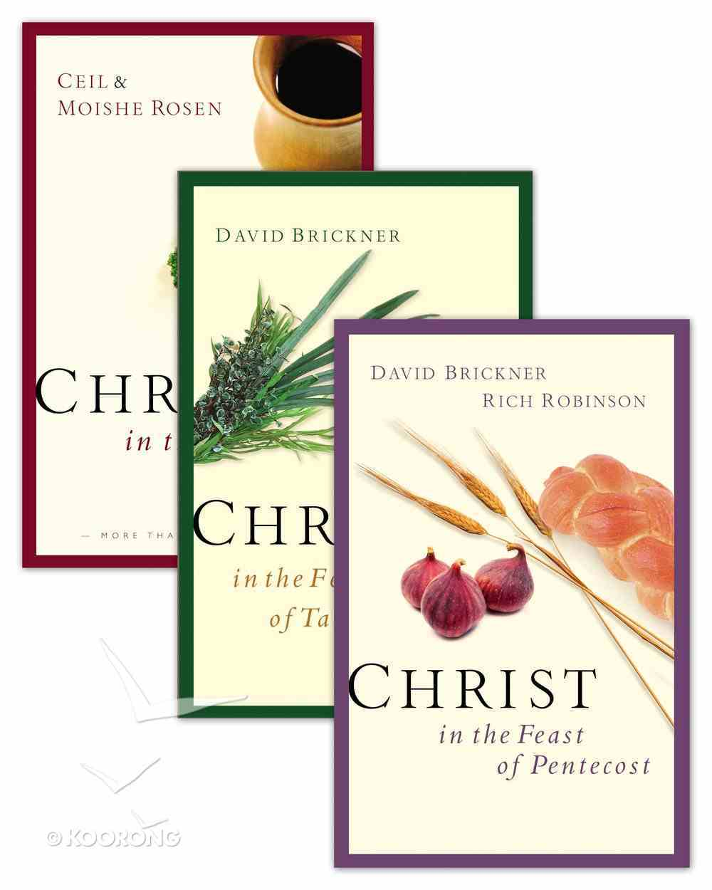 Christ in the Passover/Christ in the Feast of Pentecost/Christ in the Feast of Tabernacles (Set) eBook