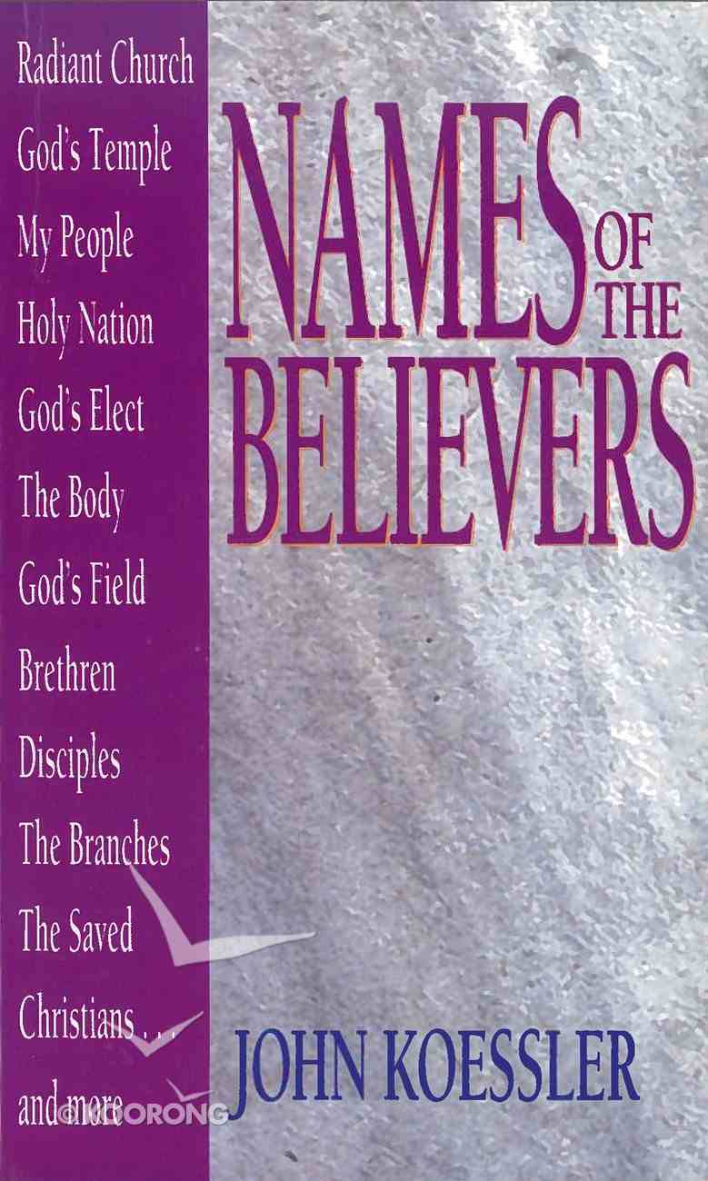 Names of the Believers eBook