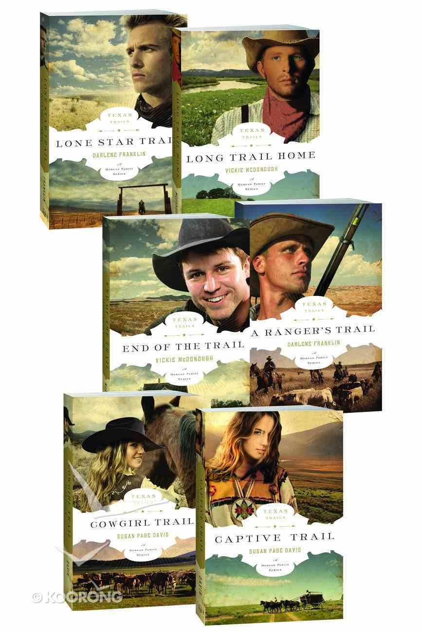 The Texas Trails Series (1-6) (Texas Trials Series) eBook