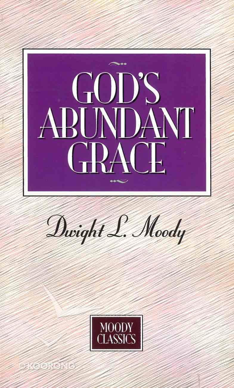God's Abundant Grace eBook