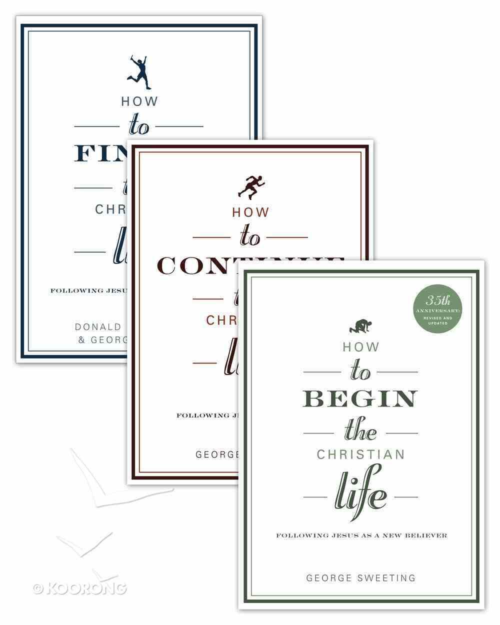 The Christian Life (Set Of 3 Books) eBook