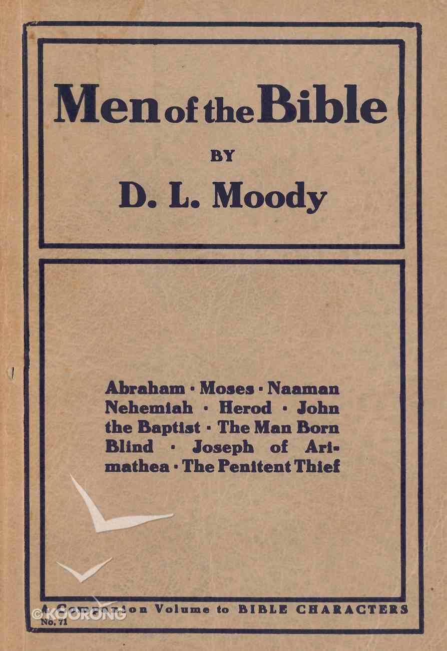 Men of the Bible eBook