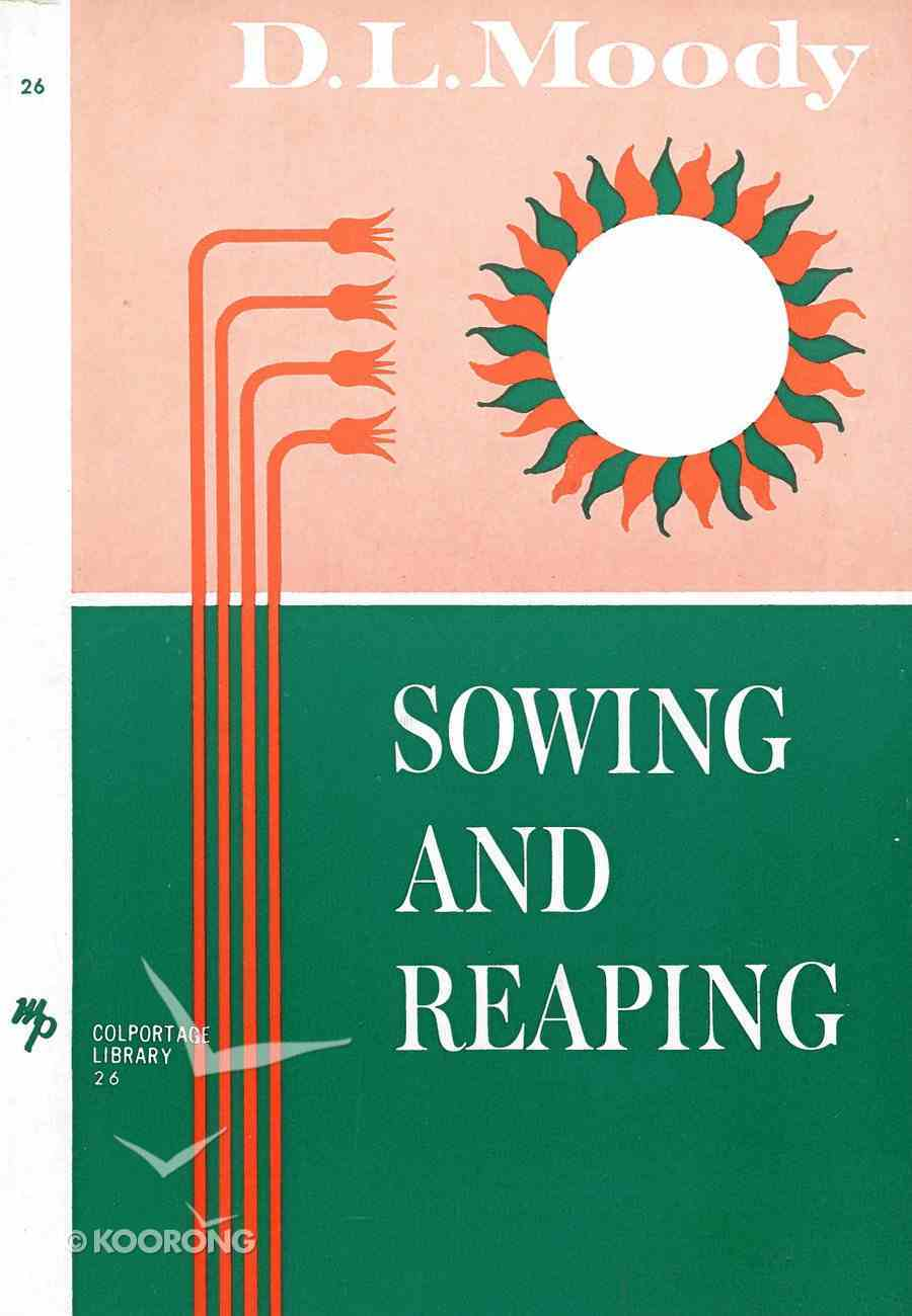 Sowing and Reaping eBook