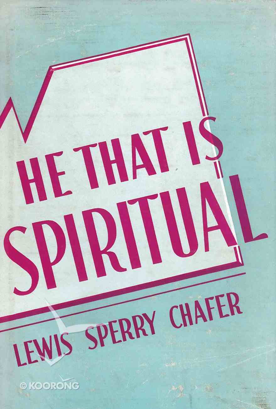 He That is Spiritual eBook