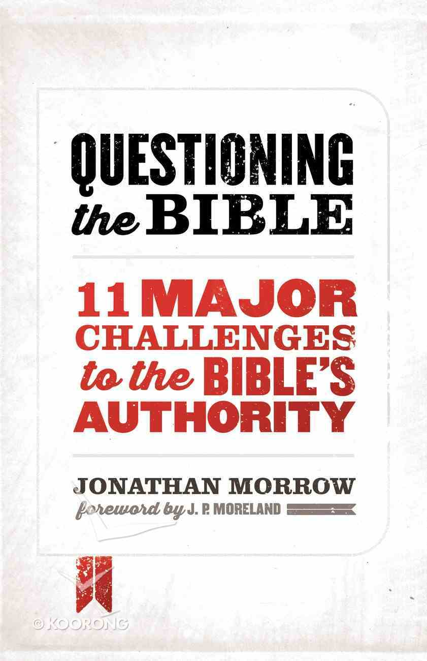 Questioning the Bible eBook
