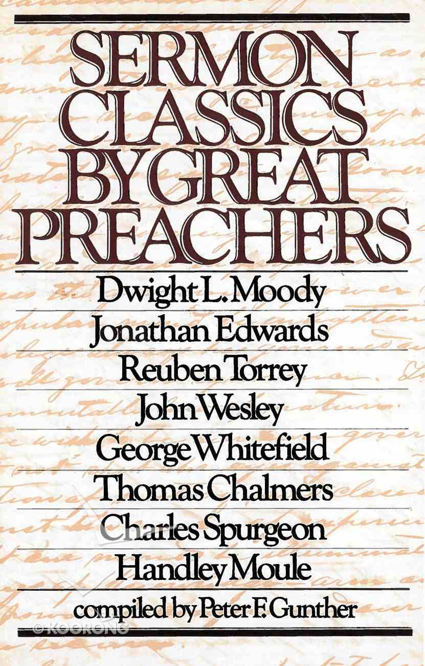 Sermon Classics By Great Preachers eBook