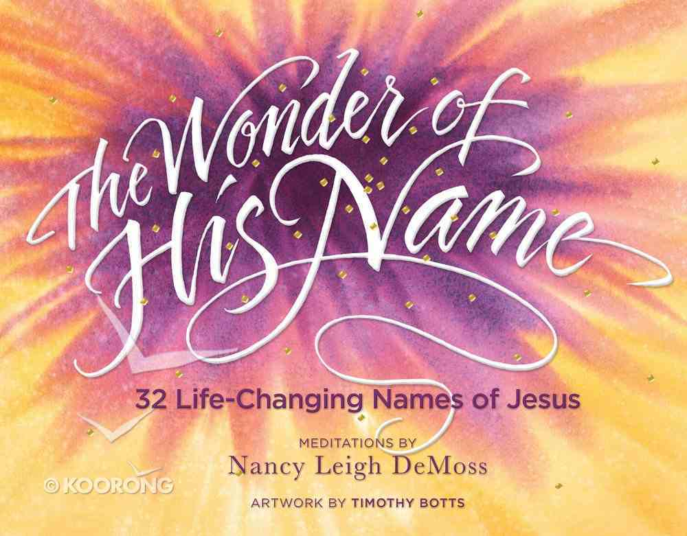 The Wonder of His Name eBook