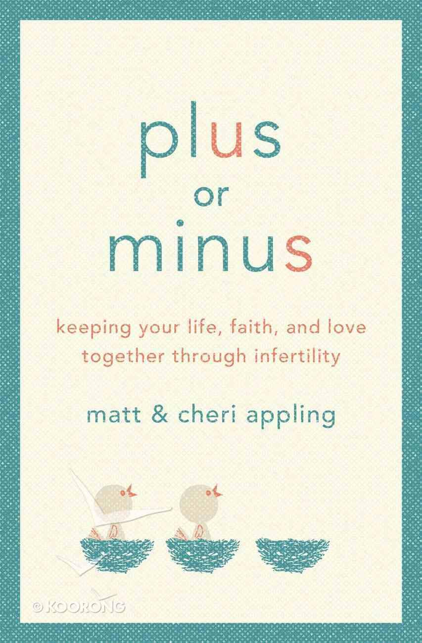 Plus Or Minus eBook