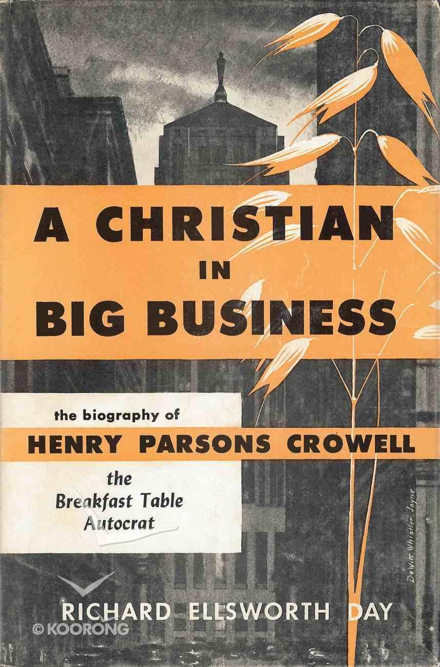 A Christian in Big Business eBook