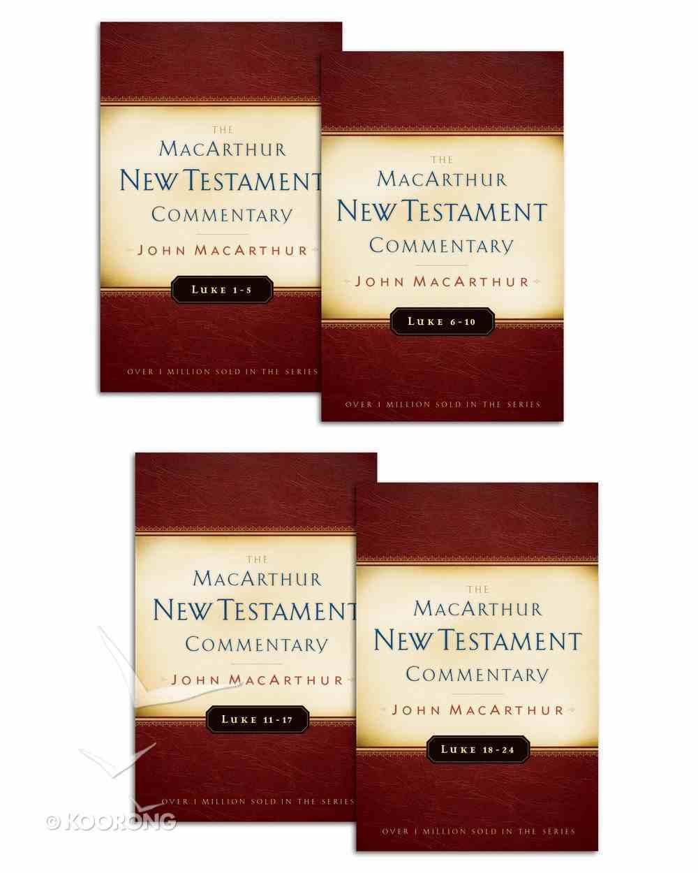Macarthur Ntc: Luke 1-24 eBook