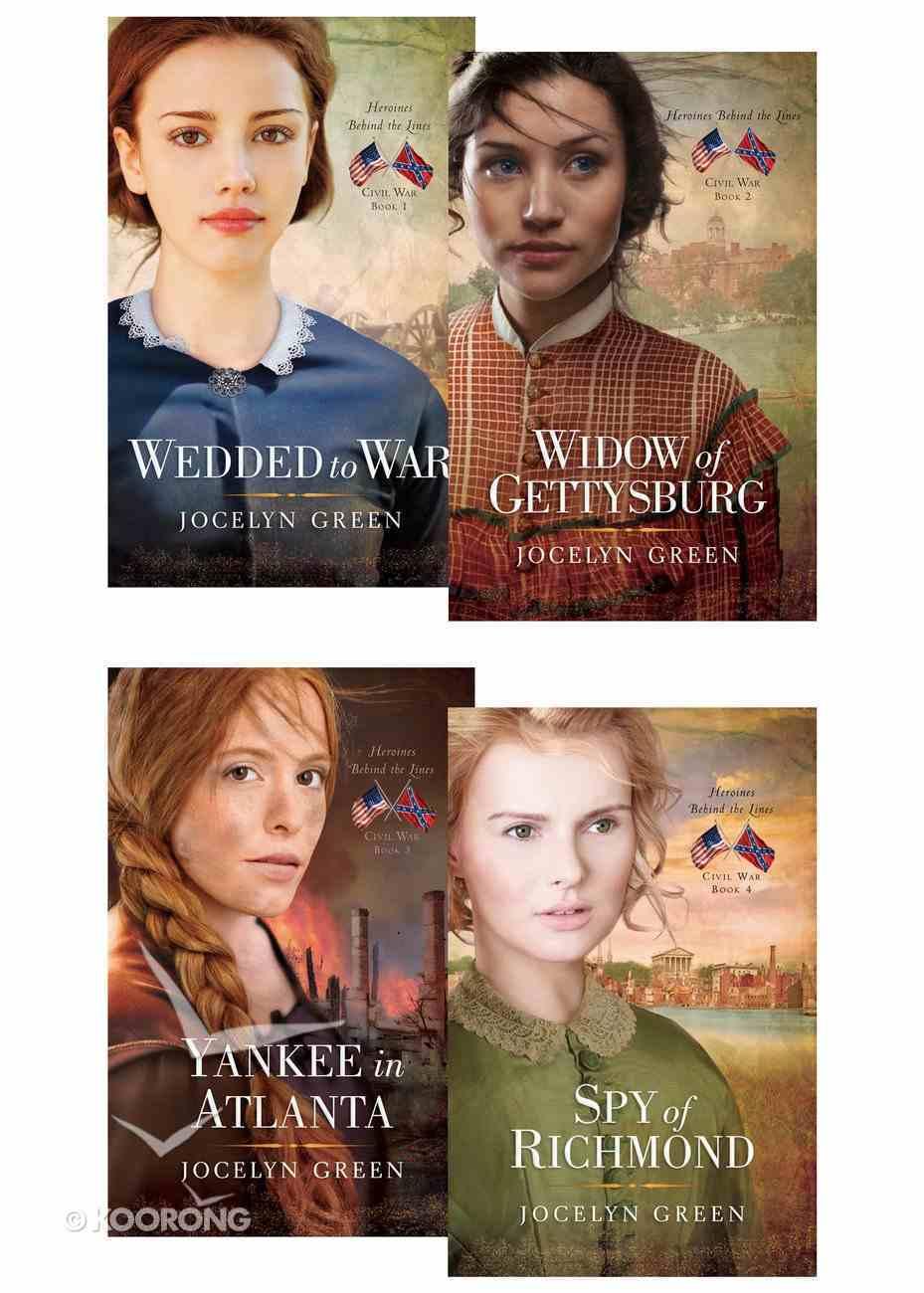 Heroines Behind the Lines Series (Set of 4) (Heroines Behind The Lines Series) eBook