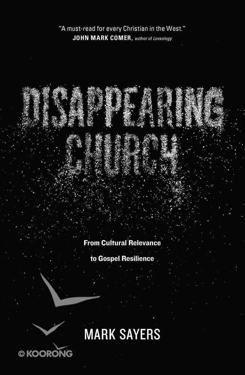 Disappearing Church eBook