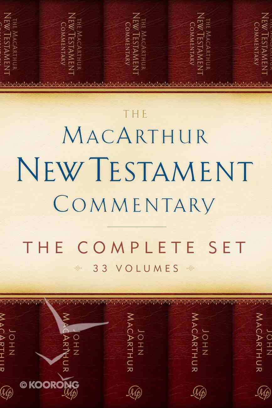 MNTC Complete New Testament Commentary Set (33 Vols) (Macarthur New Testament Commentary Series) eBook