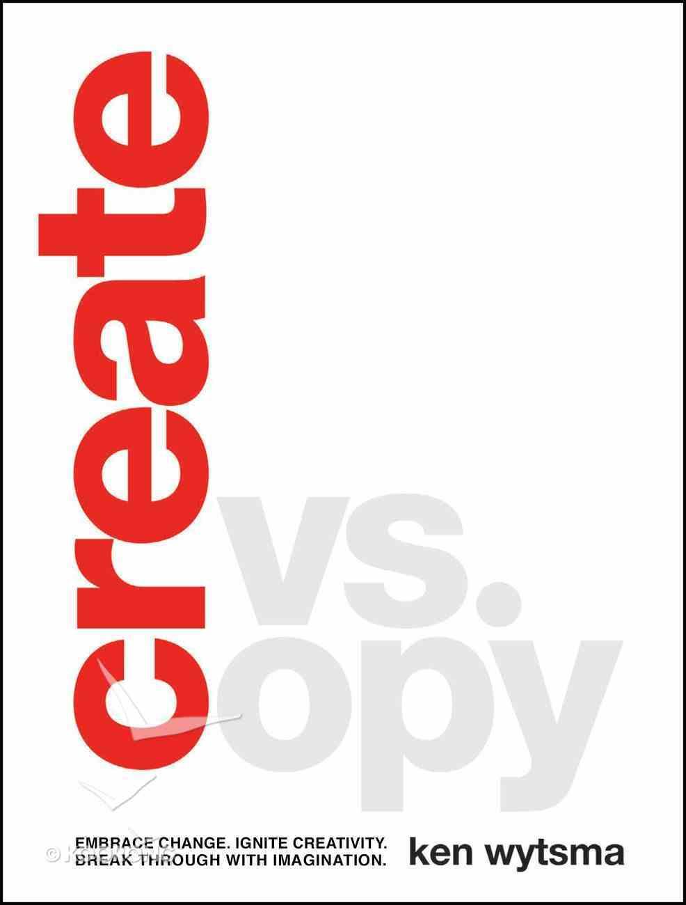 Create Vs. Copy eBook