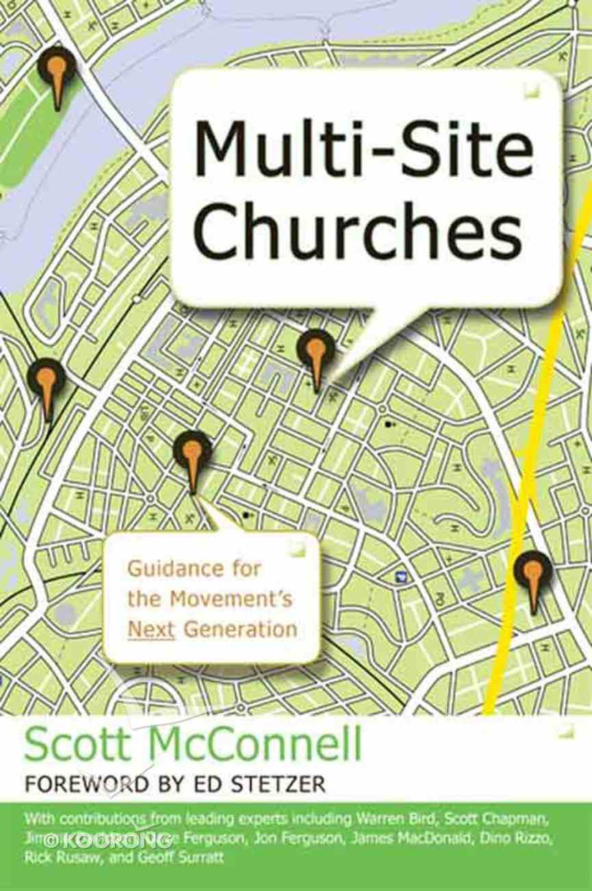 Multi-Site Churches eBook