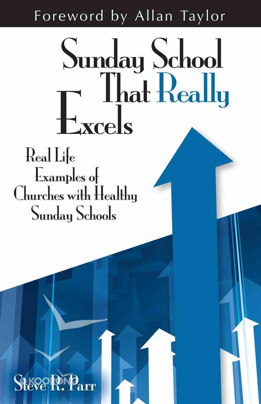 Sunday Schools That Really Excel eBook