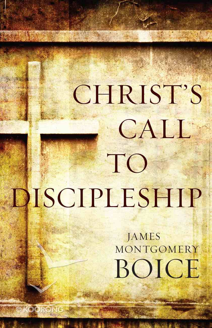 Christ's Call to Discipleship eBook