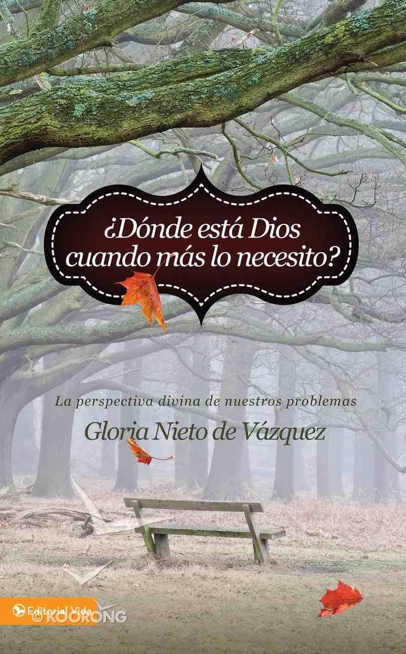 Dnde Est Dios Cuando MS Lo Necesito? (Spa) (Where Is God When I Need It?) eBook