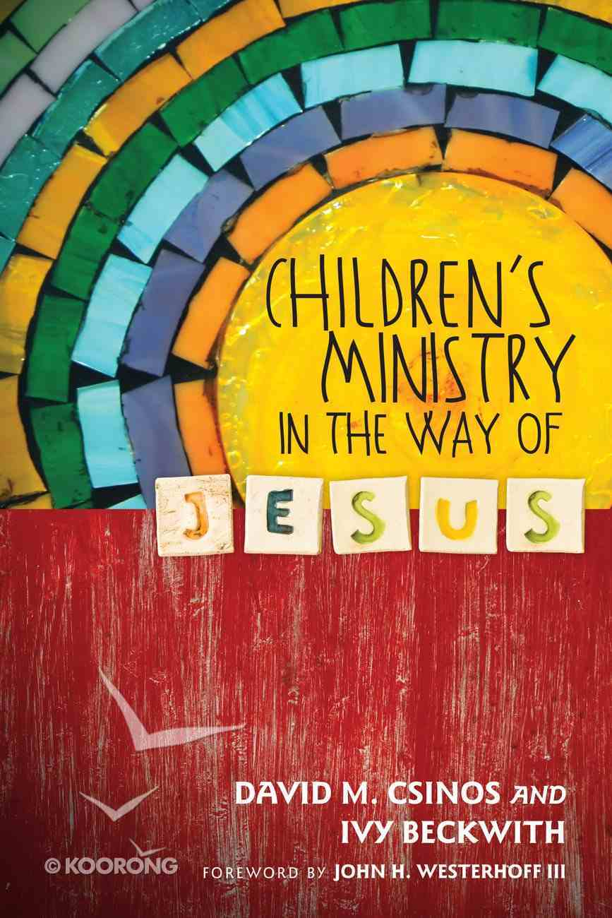 Children's Ministry in the Way of Jesus eBook