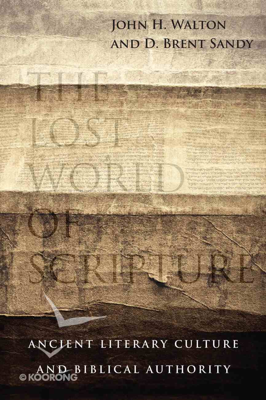 The Lost World of Scripture eBook