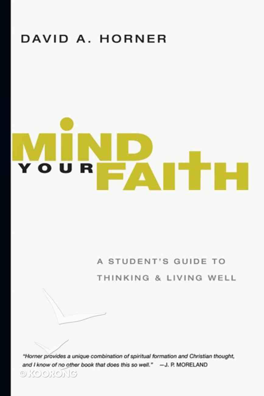 Mind Your Faith eBook