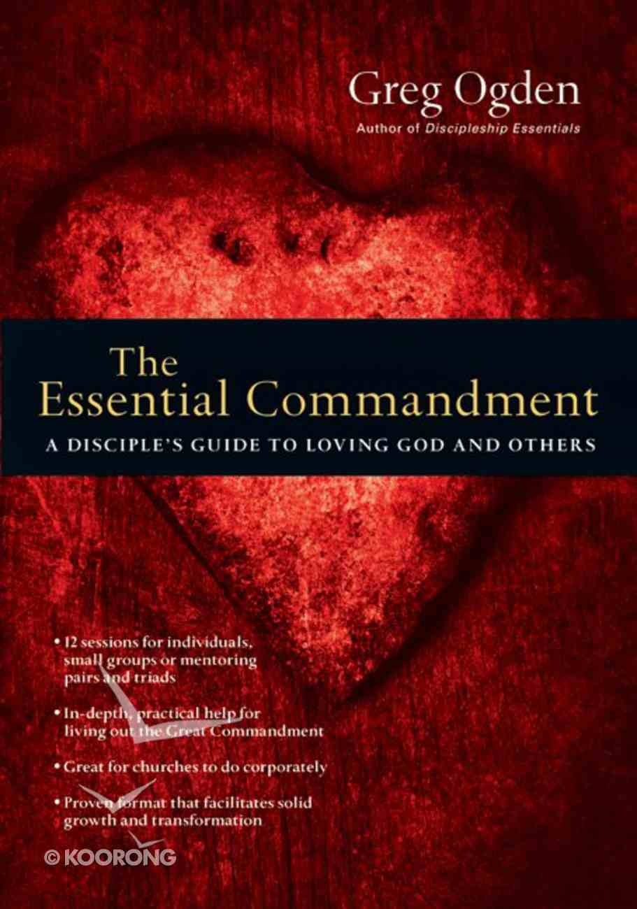 The Essential Commandment eBook