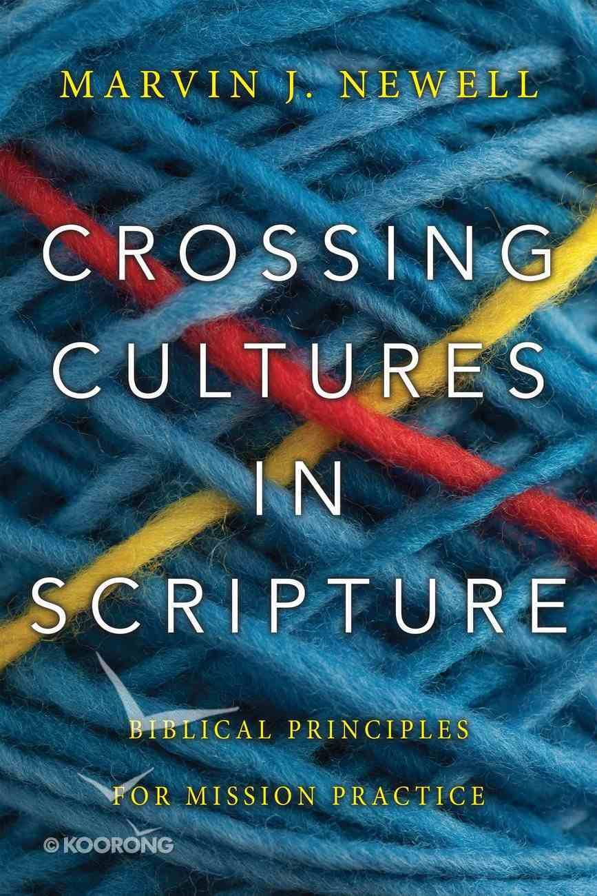Crossing Cultures in Scripture eBook
