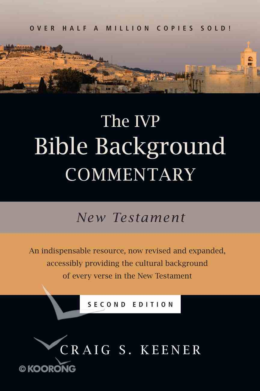 Ivp Bible Background Commentary: The New Testament eBook