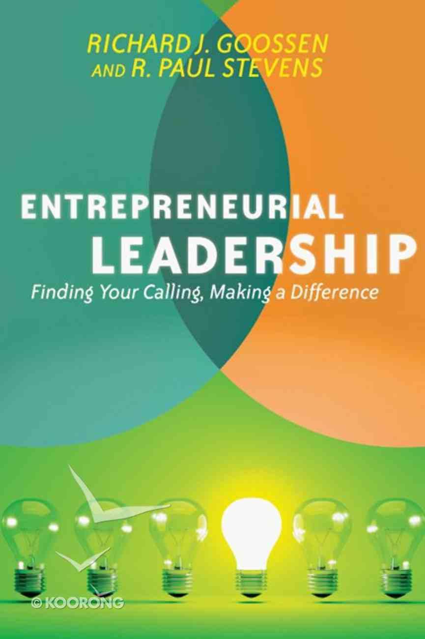 Entrepreneurial Leadership eBook