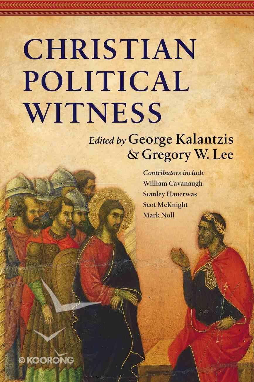 Christian Political Witness eBook