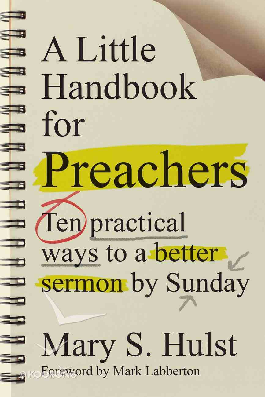 A Little Handbook For Preachers eBook