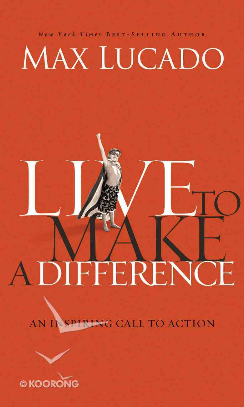 Live to Make a Difference eBook