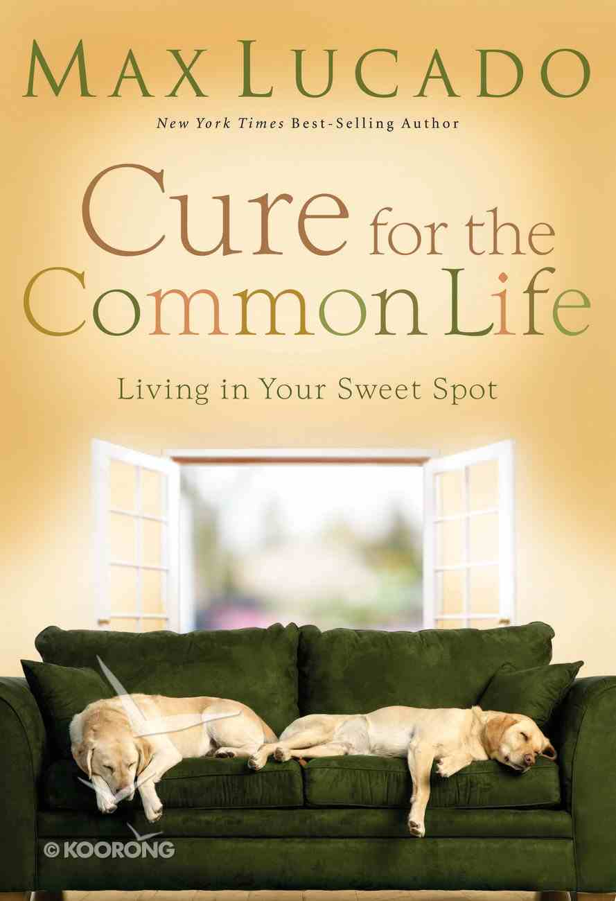Cure For the Common Life eAudio Book