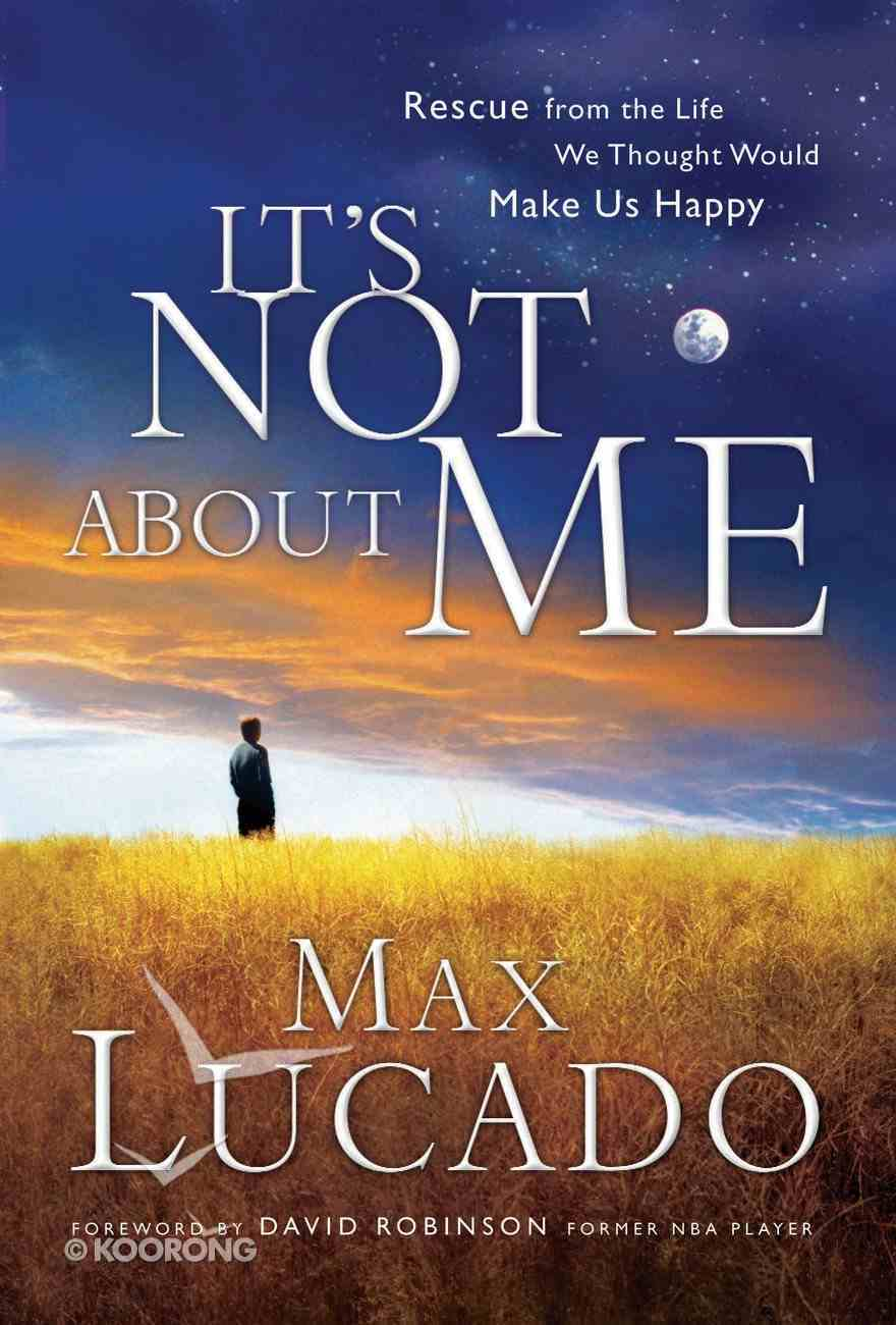 It's Not About Me eBook
