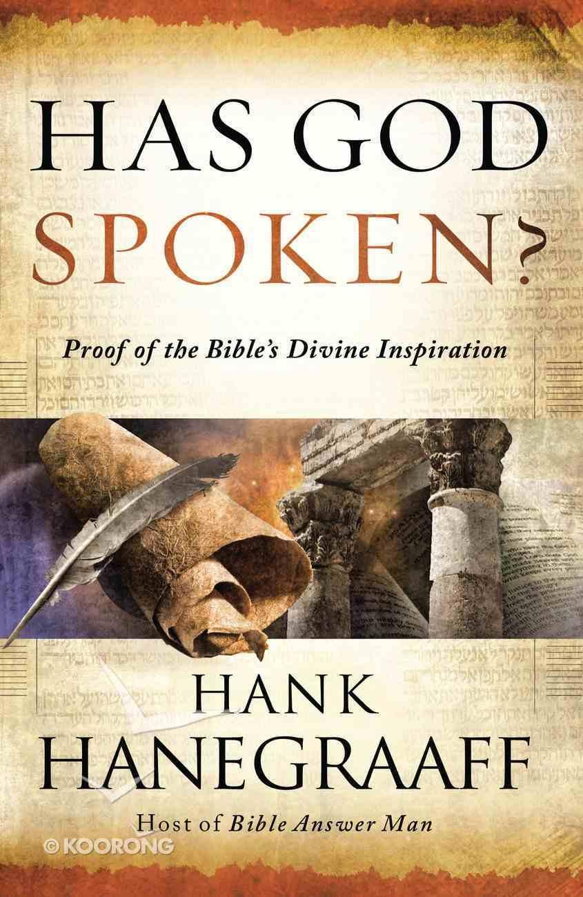 Has God Spoken? eBook