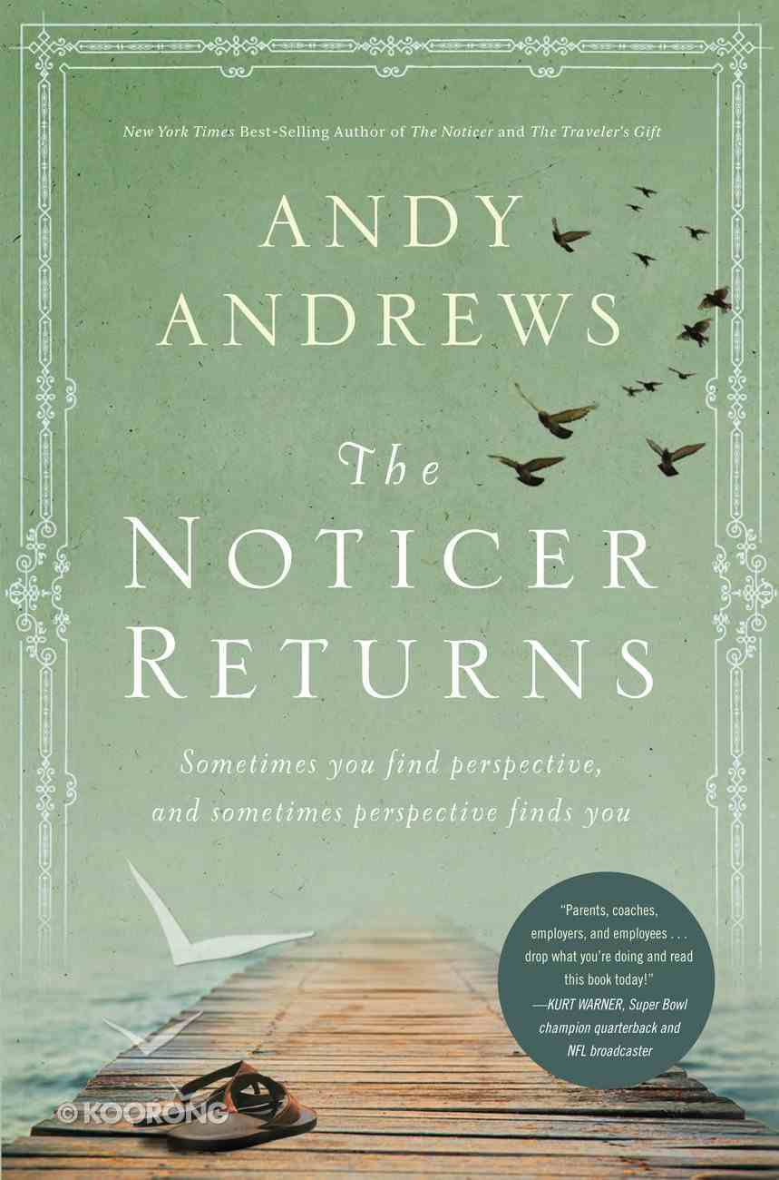 The Noticer Returns (#02 in Noticer Trilogy Series) eBook