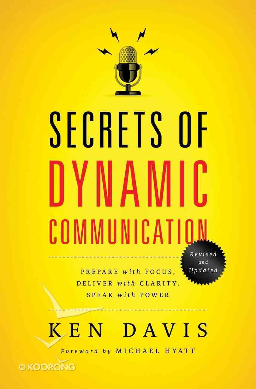 Secrets of Dynamic Communications eBook