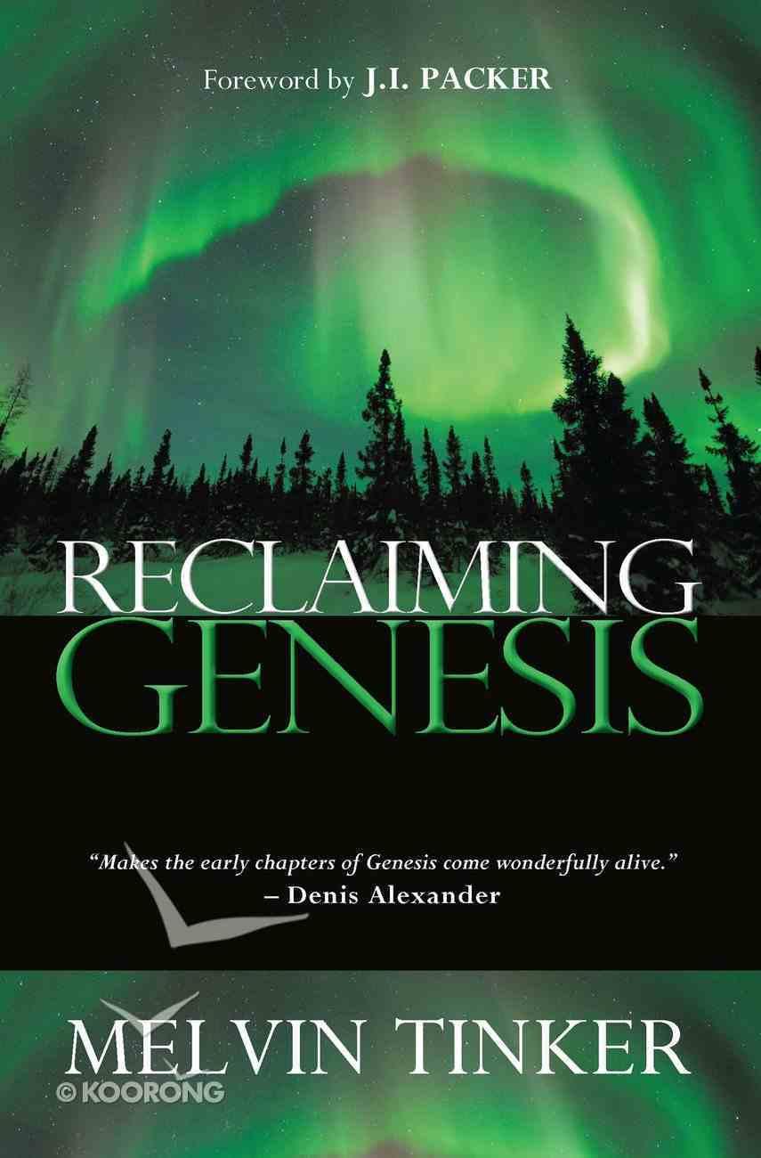 Reclaiming Genesis eBook