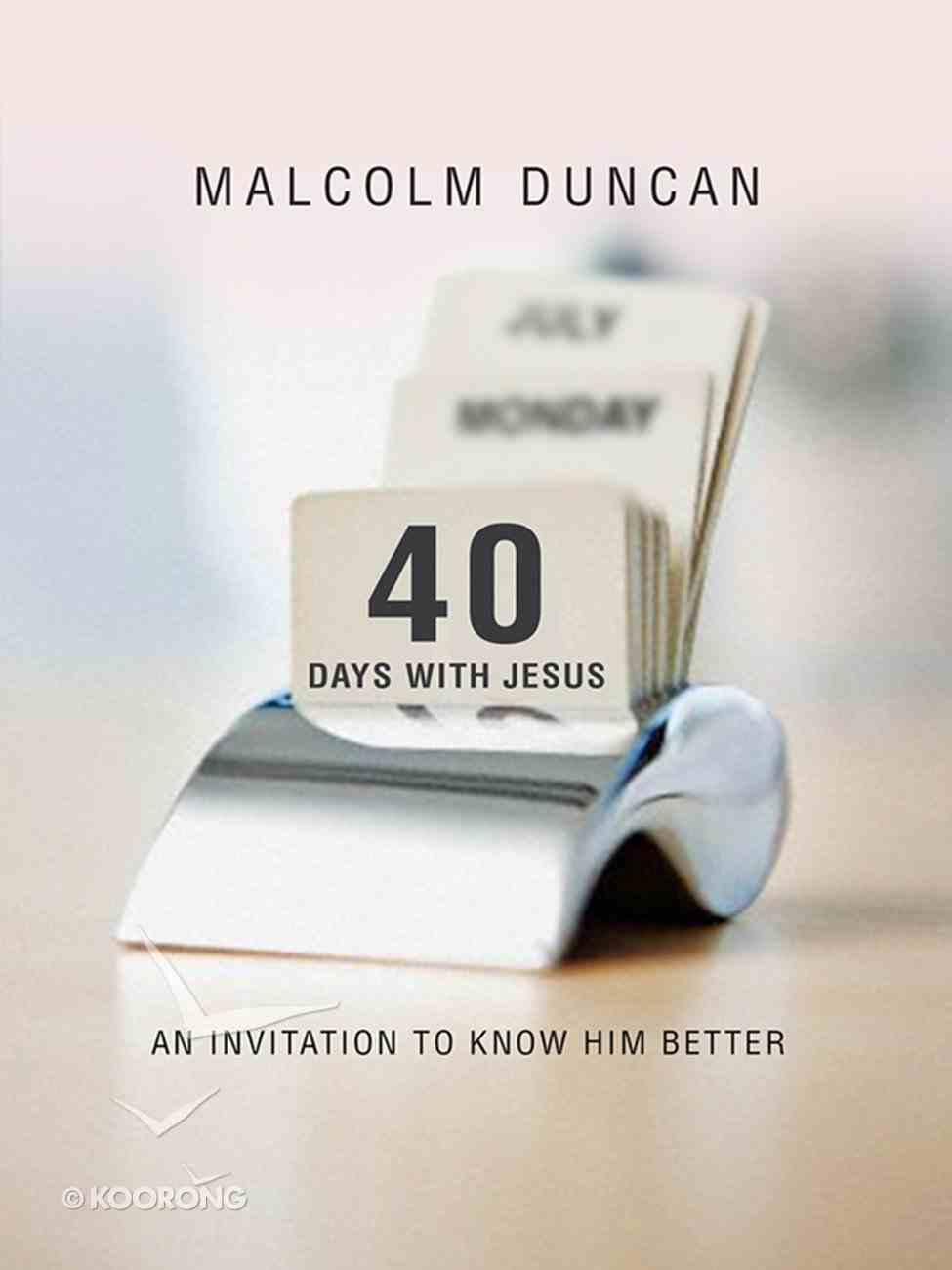40 Days With Jesus eBook