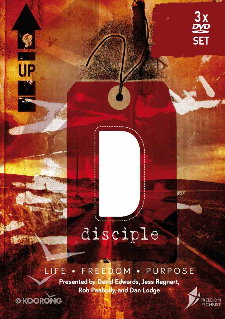 Disciple - Free to Live (Freedom In Christ Course) DVD