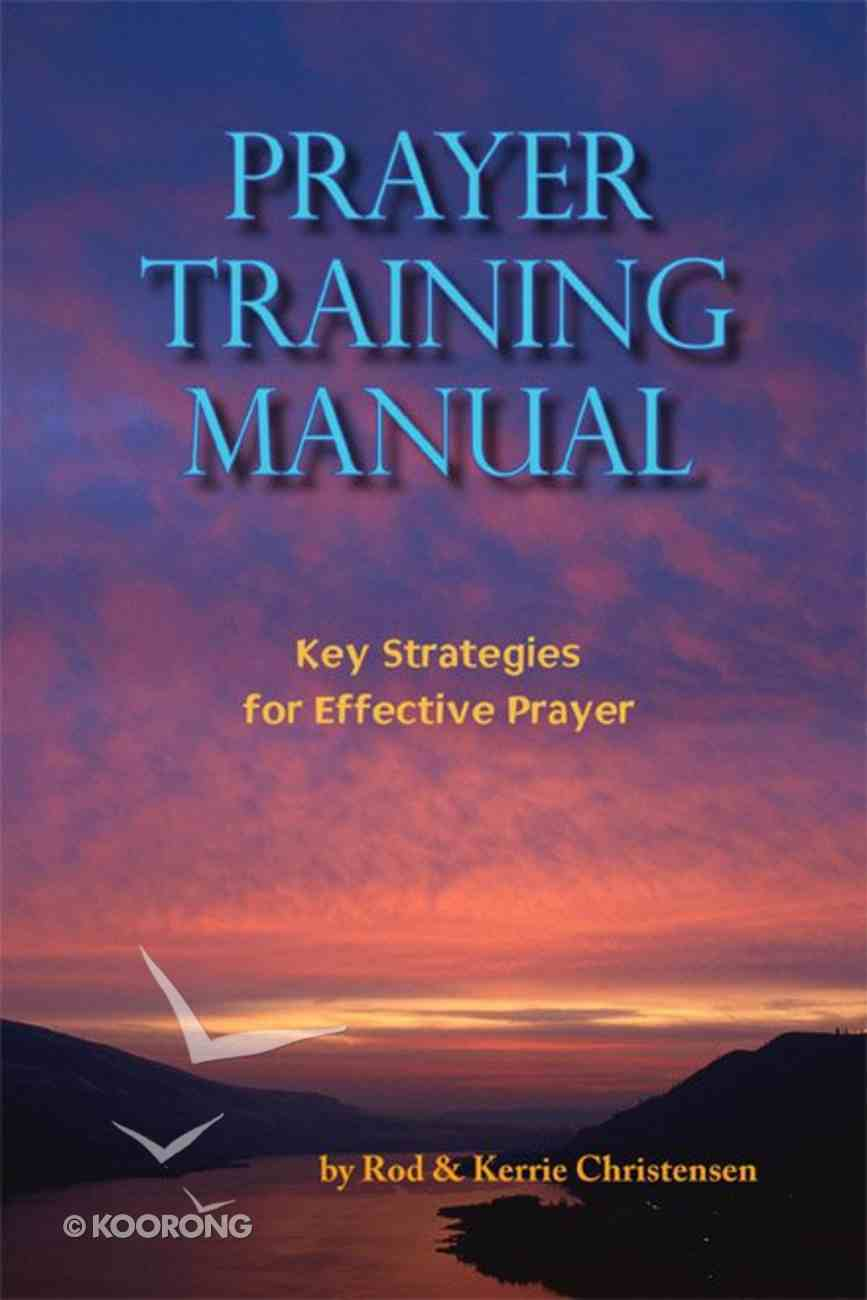 Prayer Training Manual eBook