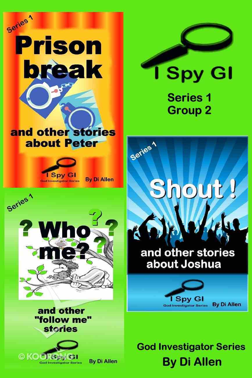 I Spy Gi Series 1 Group 2 (I Spy God Investigator Series) eBook