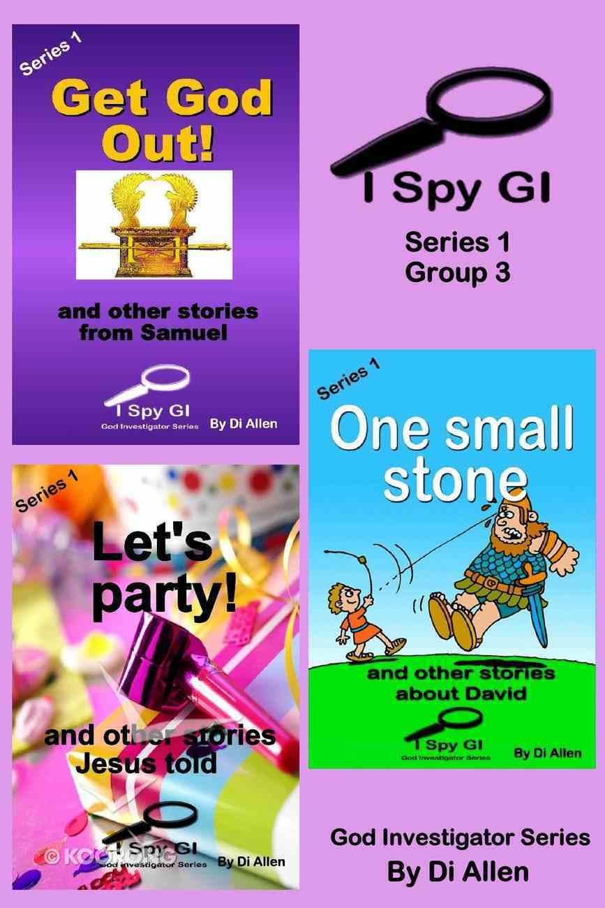 I Spy Gi Series 1 Group 3 (I Spy God Investigator Series) eBook