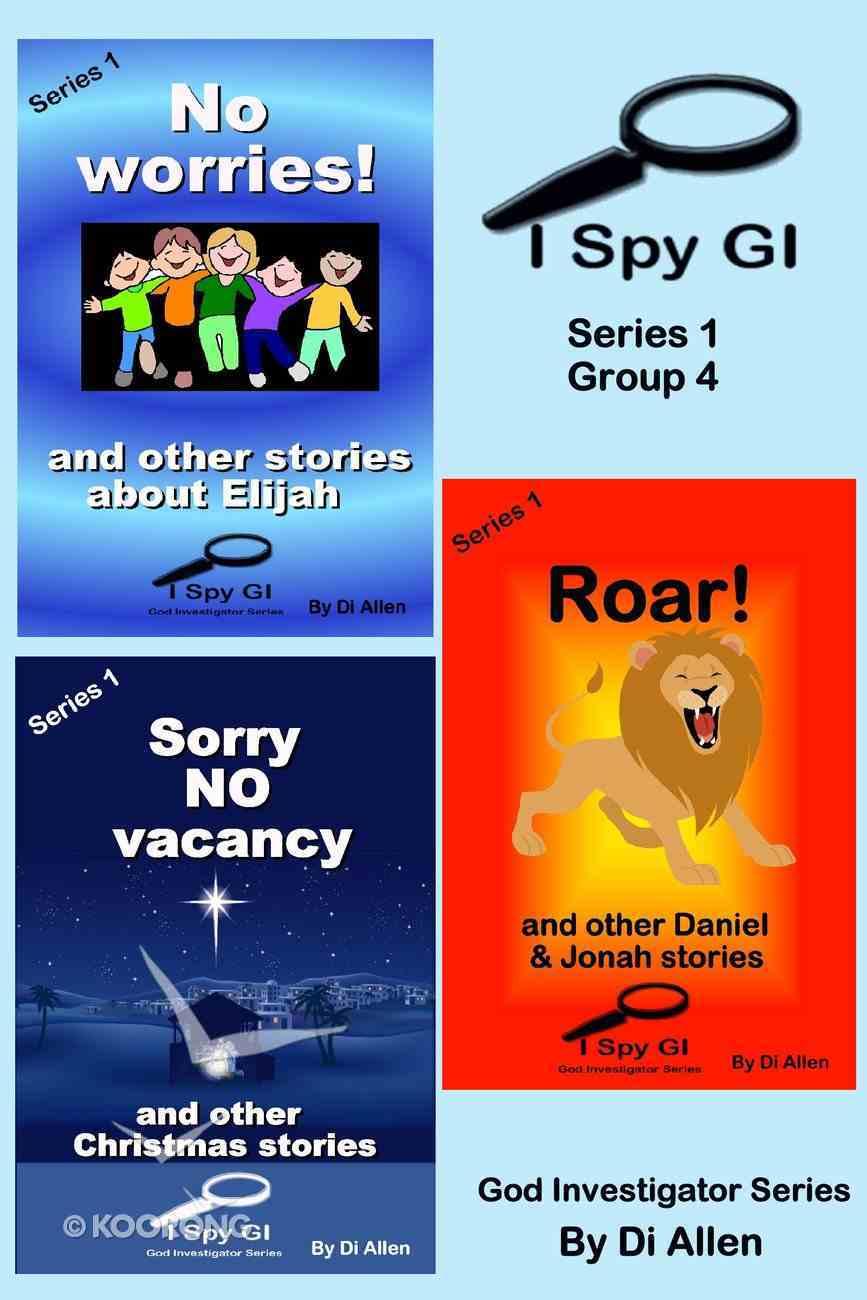 I Spy Gi Series 1 Group 4 (I Spy God Investigator Series) eBook
