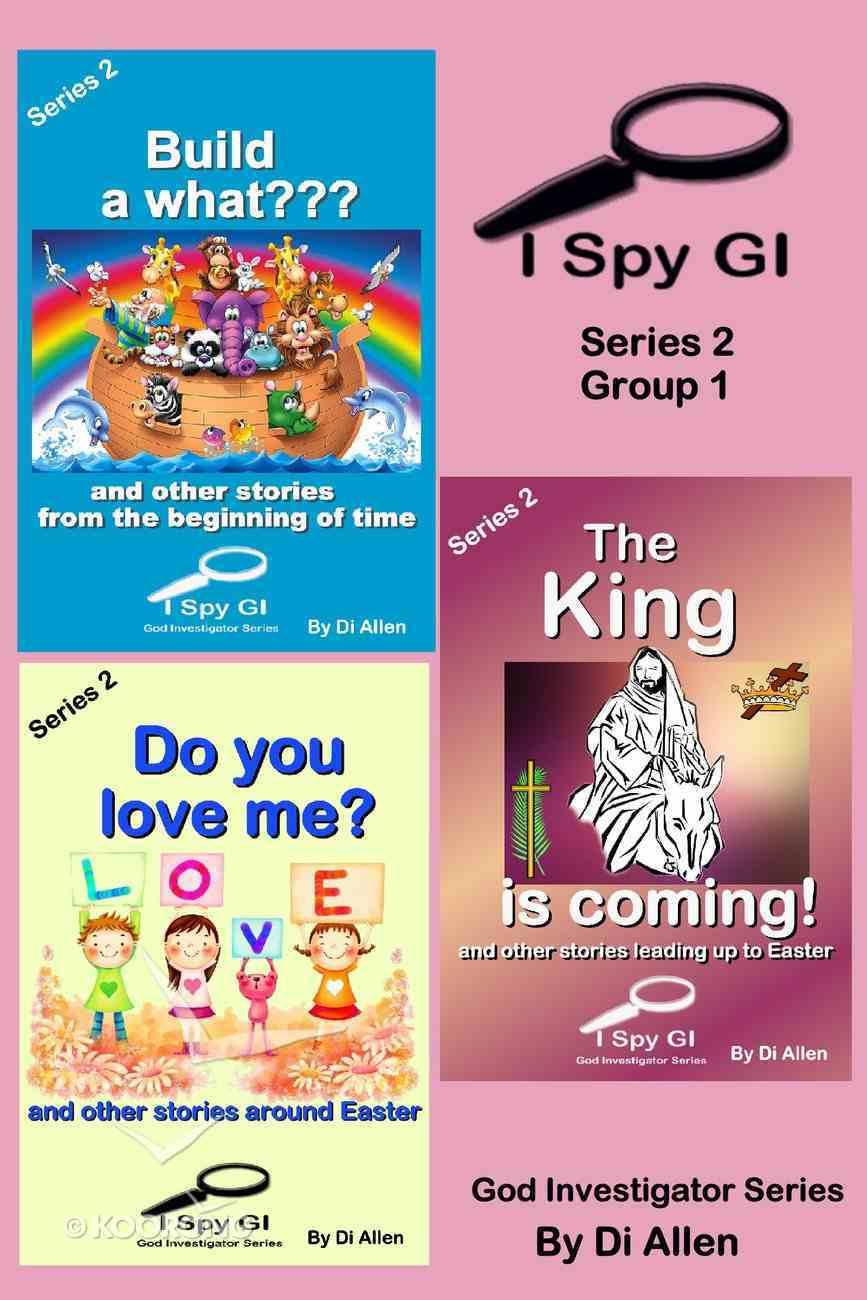 I Spy Gi Series 2 Group 1 (I Spy God Investigator Series) eBook