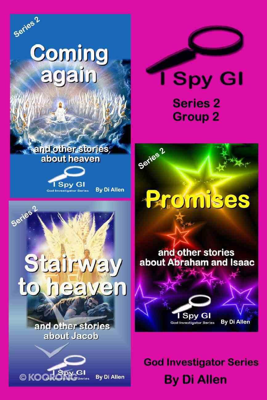 I Spy Gi Series 2 Group 2 (I Spy God Investigator Series) eBook
