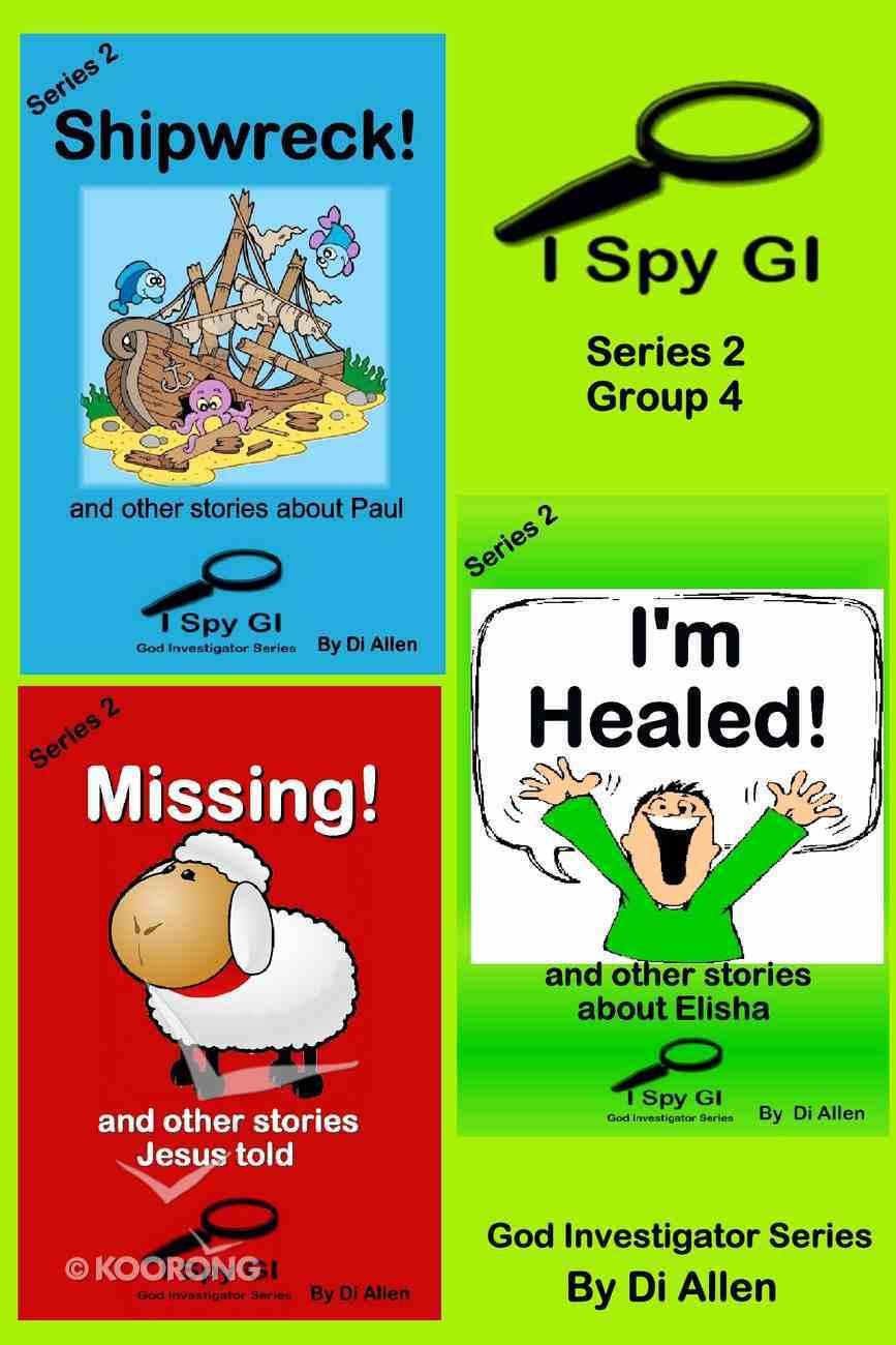 I Spy Gi Series 2 Group 4 (I Spy God Investigator Series) eBook