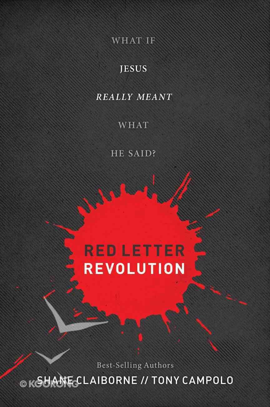 Red Letter Revolution eBook