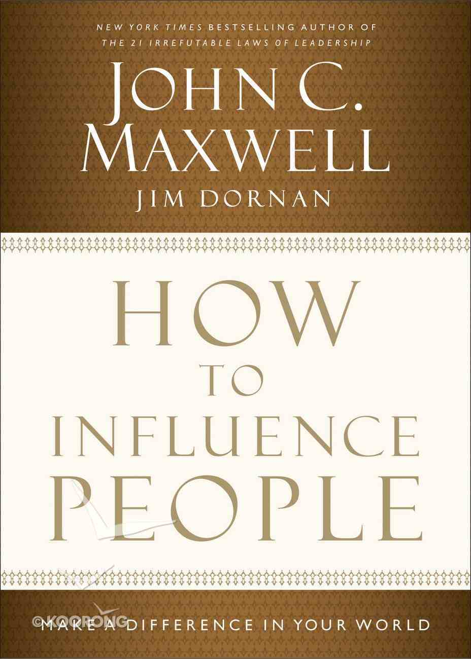 How to Influence People eBook